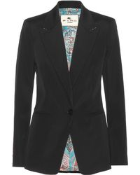 Etro Tailored Blazer - Lyst