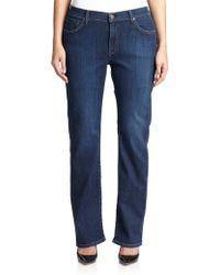James Jeans Straight-Leg Jeans - Lyst