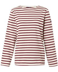 Saint James Meridien Oversized Striped Top - Lyst