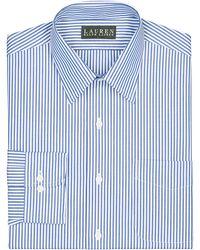 Lauren by Ralph Lauren Slim-Fit Bengal-Stripe Broadcloth Dress Shirt - Lyst