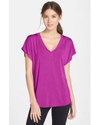 Hard Tail 'Siro' Slouchy V-Neck Tee - Lyst