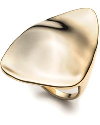 Alexis Bittar Liquid Gold Triangle Ring - Lyst