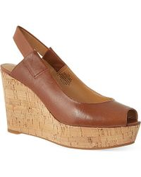Nine West Cantalope Wedges - For Women - Lyst