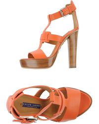Ralph Lauren Collection Sandals - Lyst