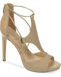Fergie - Reagan Platform Dress Sandals - Lyst