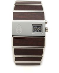 Nixon Gray Rotolog Watch - Lyst