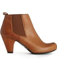 Gardenia - Leather Heeled Boots - Lyst
