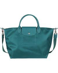 Longchamp Borsa Smeraldo Media - Lyst