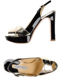 Luciano Padovan Sandals - Lyst