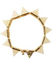 Eddie Borgo | Gemstone Large Pyramid Bracelet | Lyst