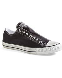 Converse Chuck Taylor All Star Low-Top Sneakers black - Lyst