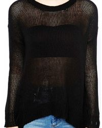 Cheap Monday Step Hem Jumper - Lyst