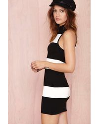 Nasty Gal Set Stripe Dress - Lyst