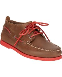 Sperry Authentic Original Neon Chukka Boat Shoes - Lyst