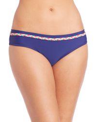 Shoshanna | Braid Banded Bikini Bottom | Lyst