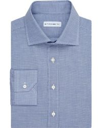 Etro Micro Gingham Check Shirt - Lyst