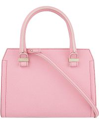 Victoria Beckham Mini Victoria Leather Tote - For Women - Lyst