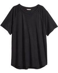 H&M + Top With Raglan Sleeves - Lyst