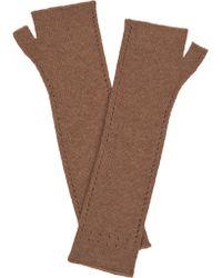 Leon Max - Knitted Soft Fingerless Gloves - Lyst