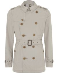 Burberry Brit Kensington Doublebreasted Trench Coat - Lyst