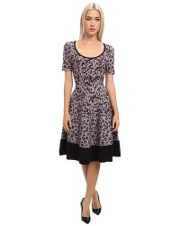 Kate Spade Cyber Cheetah Sweater Dress - Lyst