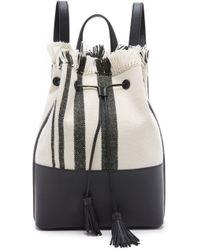 Loeffler Randall - Tassel Backpack - Lyst