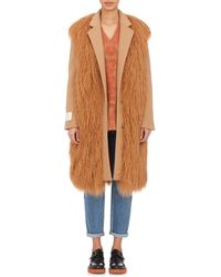 Stella McCartney Faux-Fur Erindale Coat - Lyst