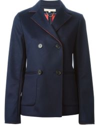 Vanessa Bruno Double Breasted Jacket - Lyst