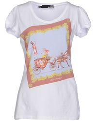 Love Moschino T-shirt - Lyst