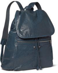 Balenciaga Creasedleather Backpack - Lyst