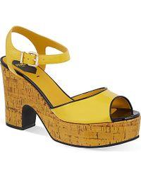 Fendi Cecilia 85 Platform Sandals - For Women - Lyst
