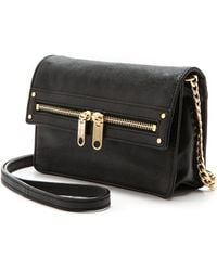 Milly Riley Cross Body Mini Bag  Black - Lyst
