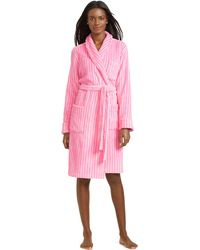 Ralph Lauren Short Shawl-Collar Robe - Lyst