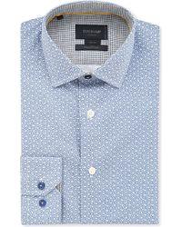 Duchamp Floral Cotton Shirt - For Men - Lyst