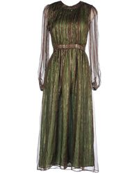 Issa Long Dress green - Lyst