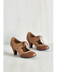 T.U.K. - It's A Sure Fete Heel In Butterscotch - Lyst