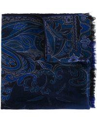 Etro   Paisley Print Scarf   Lyst