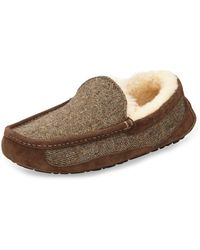 Ugg Ascot Tweed Slip-on Loafer - Lyst