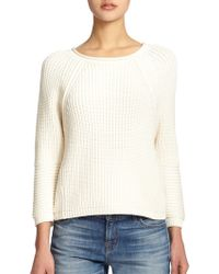 J Brand Reese Chunky Knit Sweater - Lyst