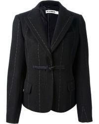 Jil Sander - Chalk Stripe Skirt Suit - Lyst