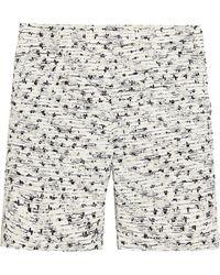 Rochas - Bouclé-tweed Shorts - Lyst