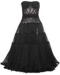 Dolce & Gabbana Tulle Dress - Lyst