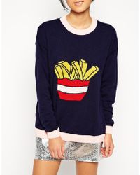 Asos Jumper With Chips - Lyst