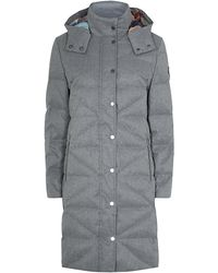 Paul by Paul Smith - Quilted Puffer Coat - Lyst
