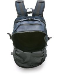 One By - Minimal Tech Backpack - Indigo - Lyst