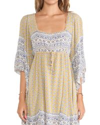 Free People Heart Of Gold Mini Dress - Lyst