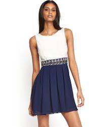 Tfnc Dacey 2in1 Dress - Lyst