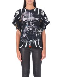 Preen Darth Vader Graphic Top Darth Border - Lyst
