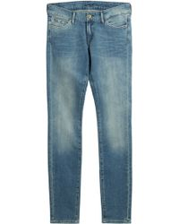 7 For All Mankind Skinny Jeans - Lyst