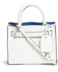 Reed Krakoff 'Micro Boxer' Leather Satchel - Lyst